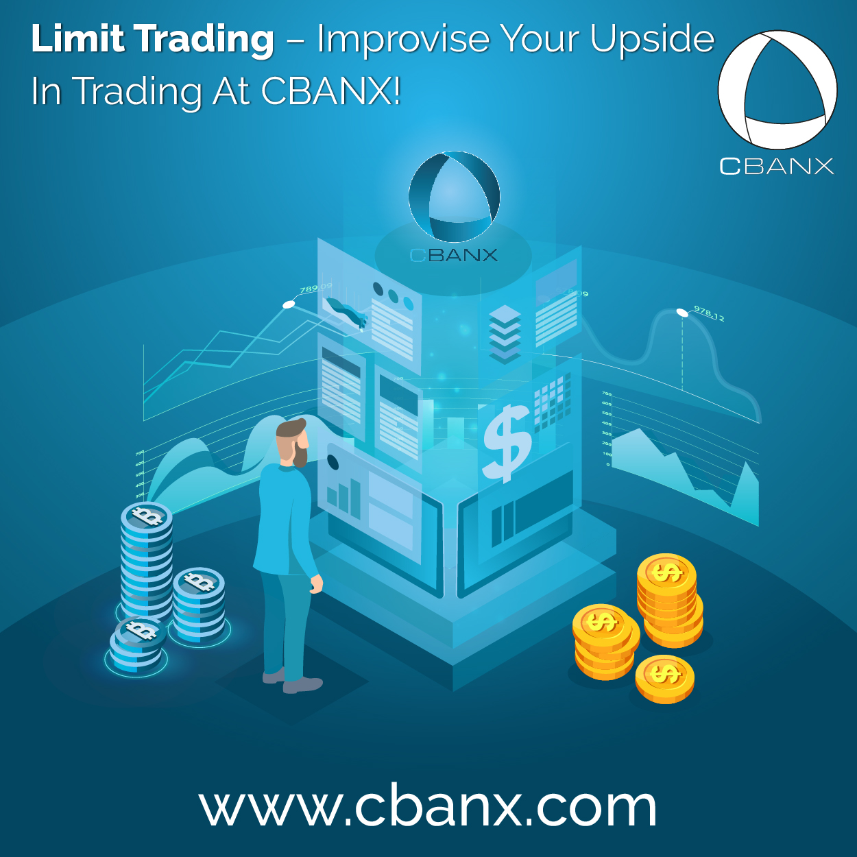 Limit Trading – Improvise Your Upside In Trading At CBANX!