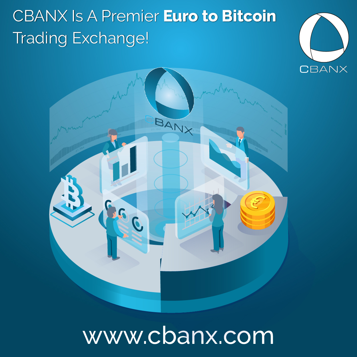 CBANX Is A Premier Euro to Bitcoin Trading Exchange!