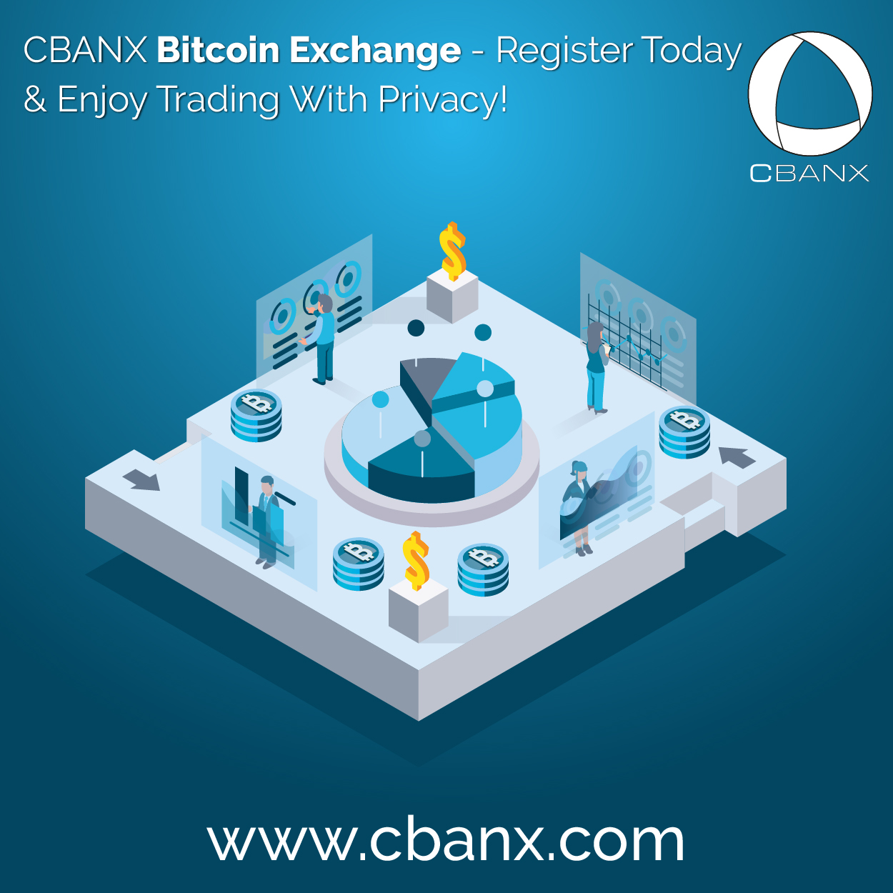 CBANX Bitcoin Exchange – Register Today & Enjoy Trading With Privacy!