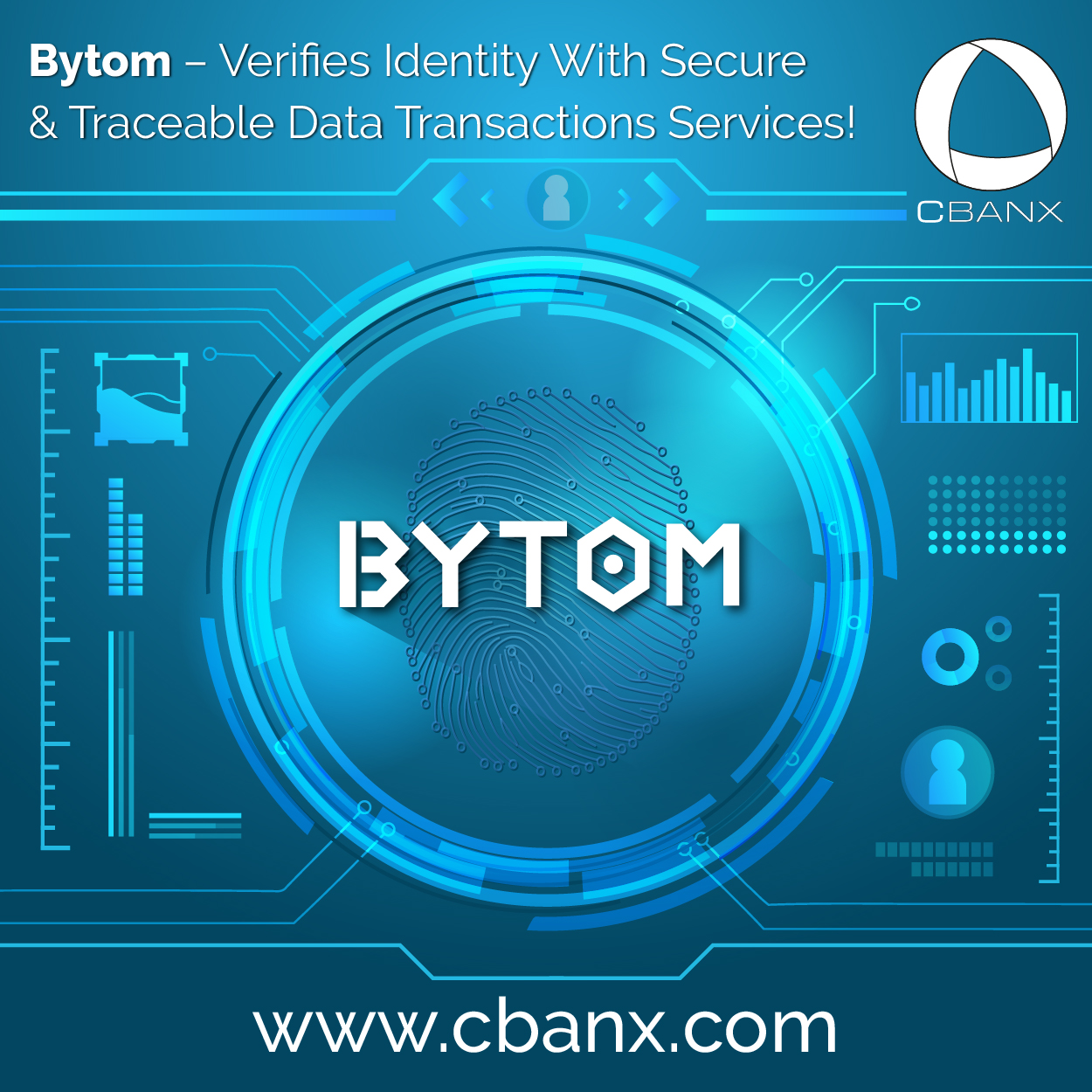 Bytom – Verifies Identity With Secure & Traceable Data Transactions Services!