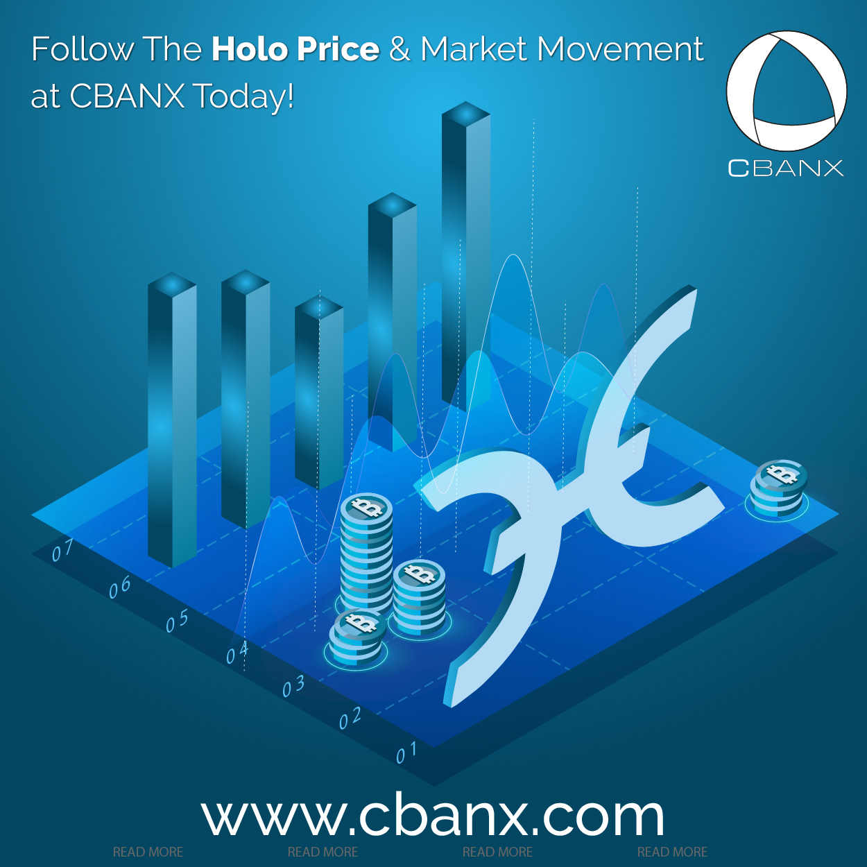 Follow The Holo Price And Market Movement at CBANX Today!
