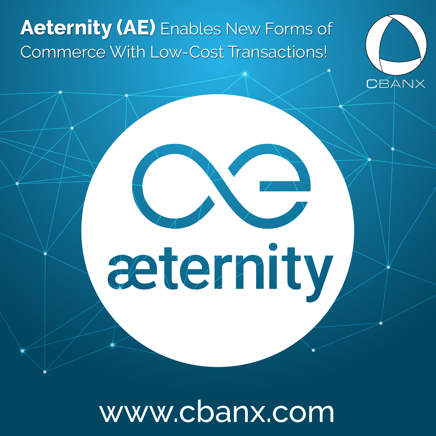 Aeternity (AE) Enables New Forms of Commerce With Low-Cost Transactions!