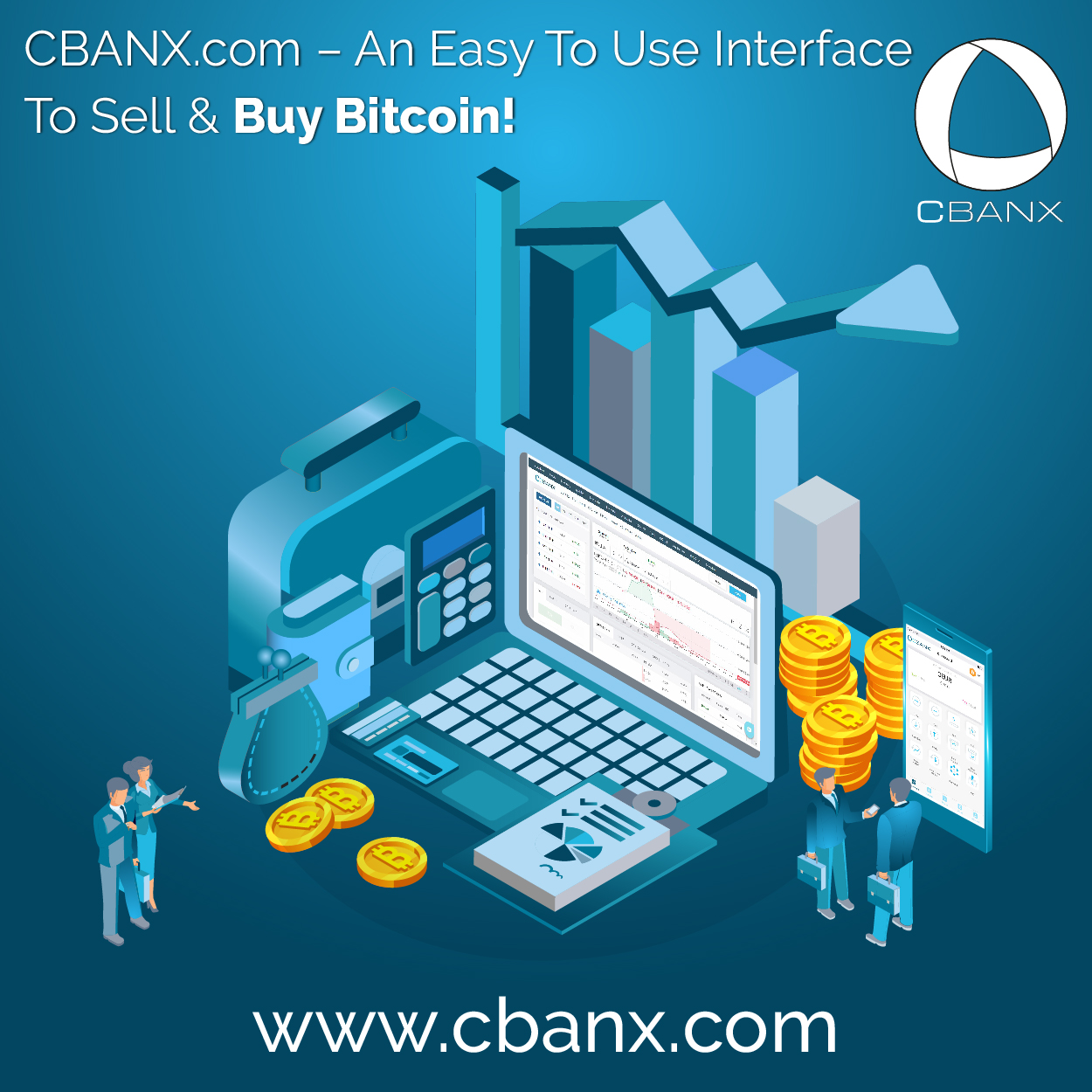 CBANX.com – An Easy To Use Interface To Sell & Buy Bitcoin!