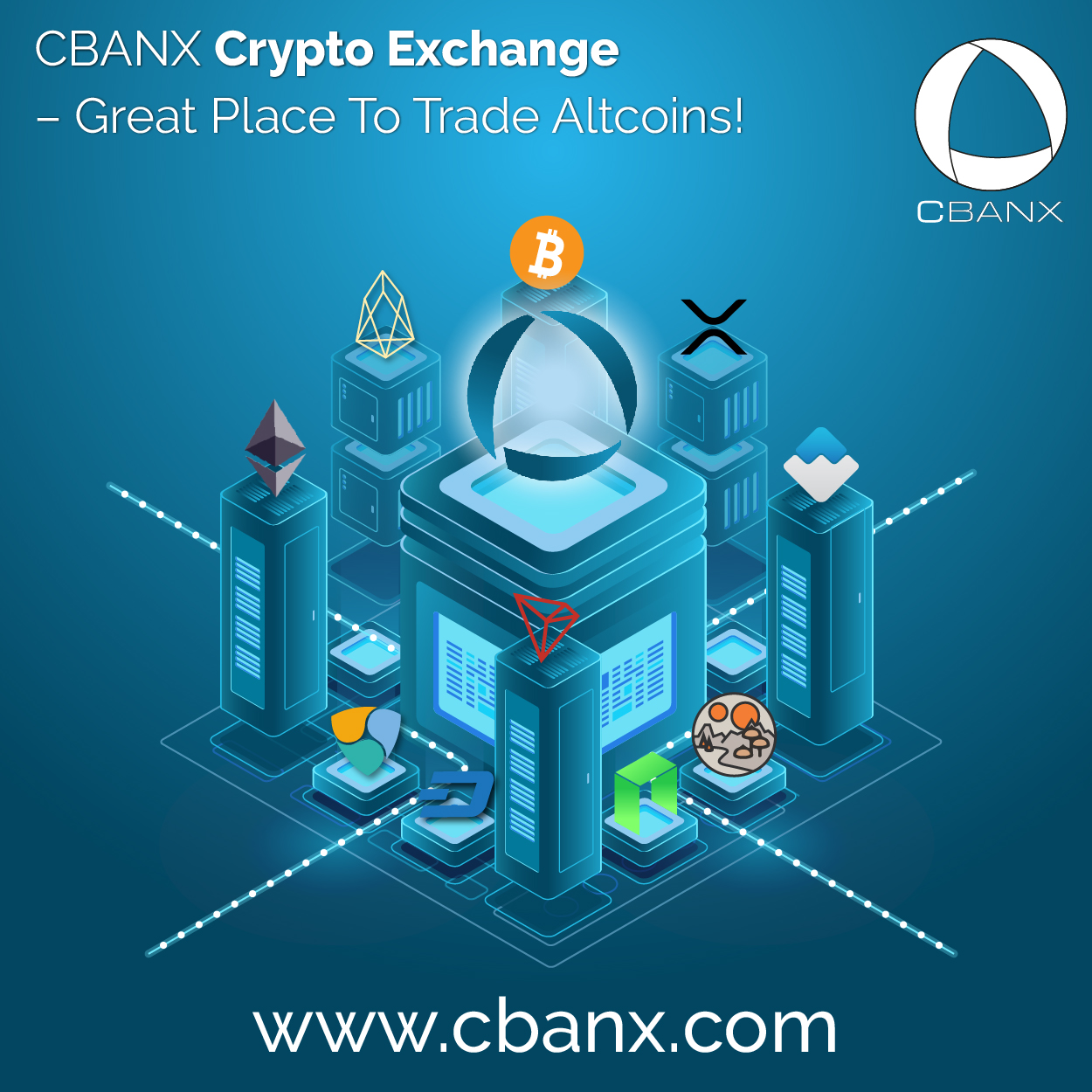 CBANX Crypto Exchange – Great Place To Trade Altcoins!