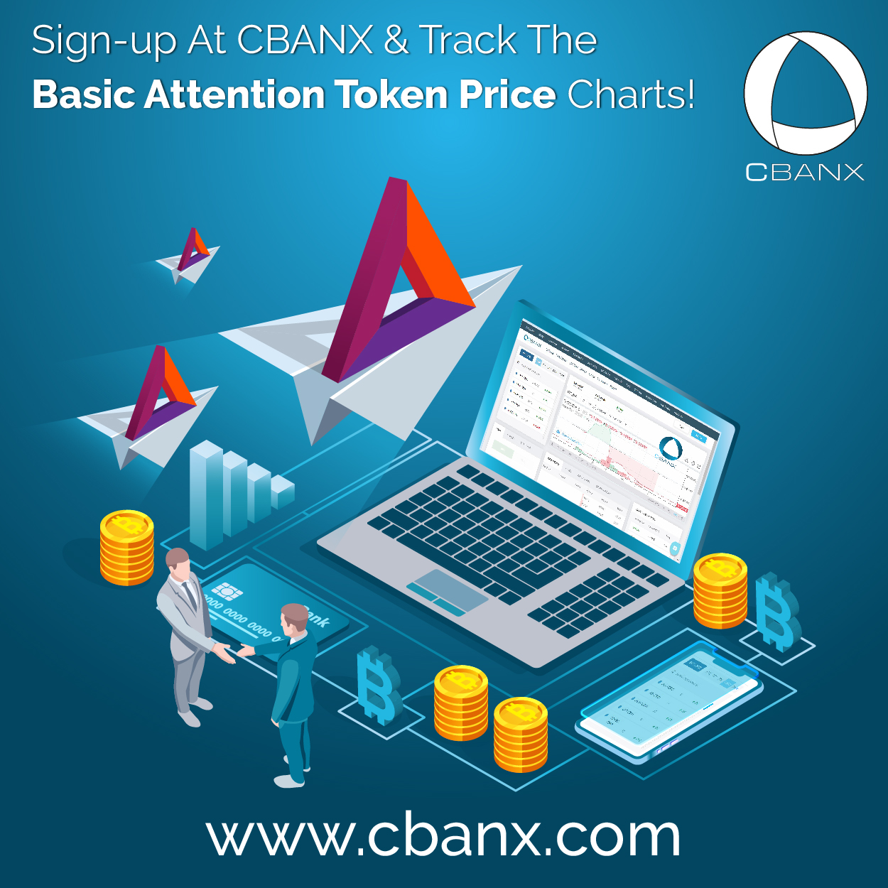 Sign-up At CBANX & Track The Basic Attention Token Price Charts!