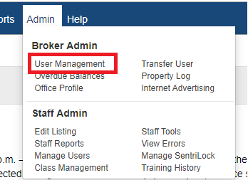 Principal Broker Settings: Sign In Permissions - How to Add