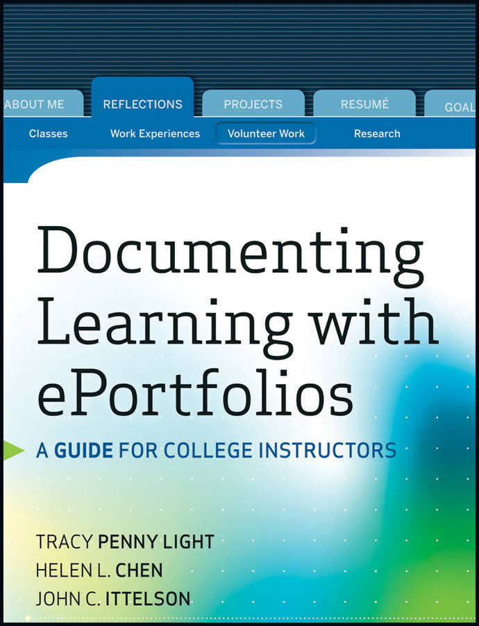 Documenting Learning with Eportfolios Book Cove