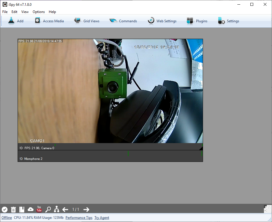 How to Configure your HD IP Bird Box Camera to Record to a