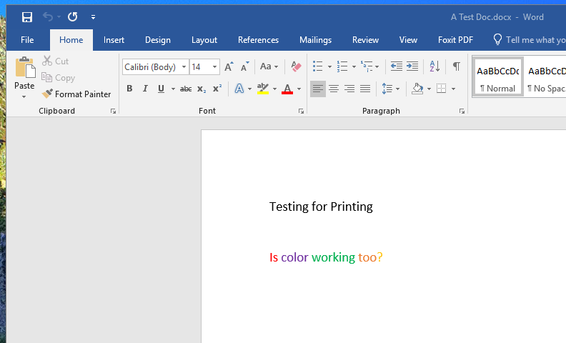 screenshot: open a document to print