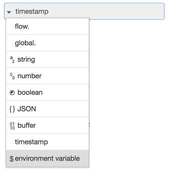 TypedInput Environment Variable
