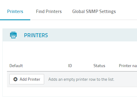 screenshot: ezeep Hub Add Printer