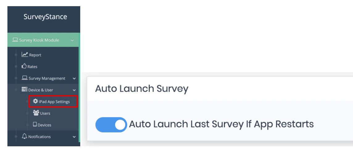Auto Launch Survey - SurveyStance