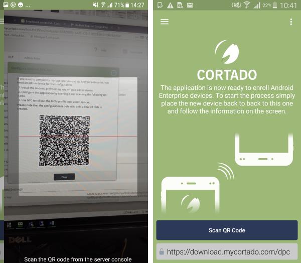 QR-Code mit NFC-App scannen