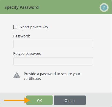 Root-Zertifikat ohne privaten Schlüssel exportieren