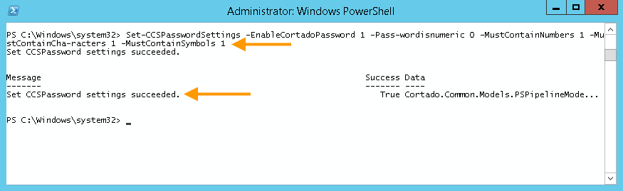 Cortado-Passwort für die Nutzer aktivieren und Passwort-Anforderungen festlegen