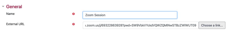 Paste invite link to External URL