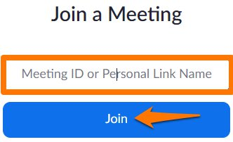 Enter Meeting ID