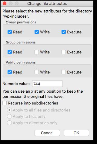 set-file-permissions