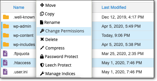change-permissions-in-cpanel