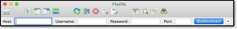 ftp-credentials-in-filezilla