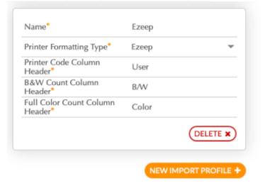 screenshot: Configure ezeep integration