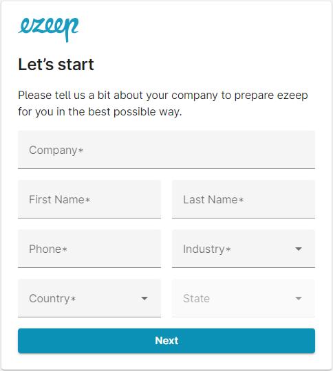 screenshot-lets start company infos