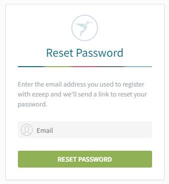 Reset email address