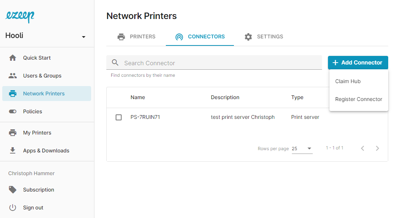 screenshot-claim Hub
