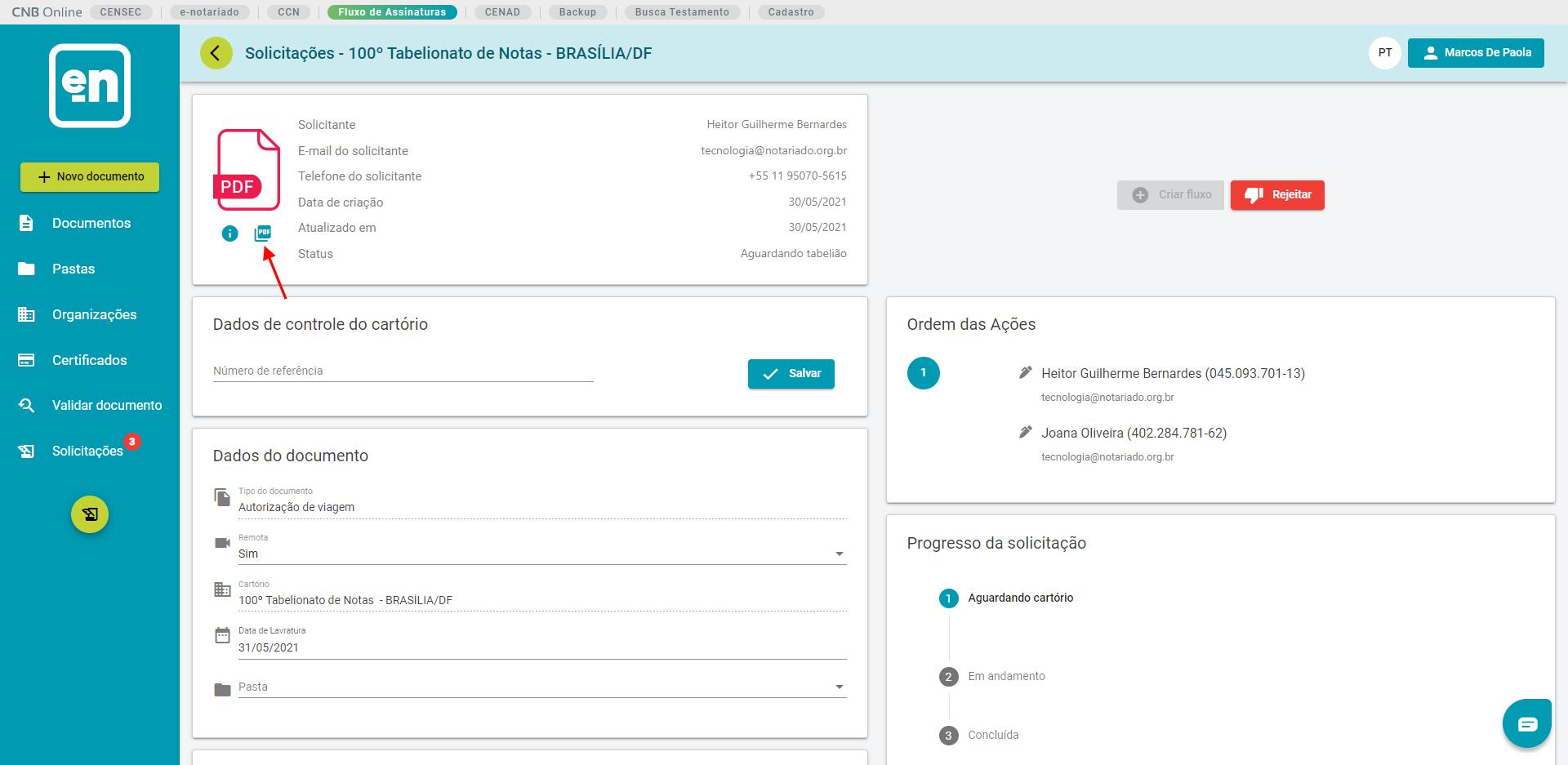 Interface gráfica do usuário, Texto, Aplicativo, EmailDescrição gerada automaticamente
