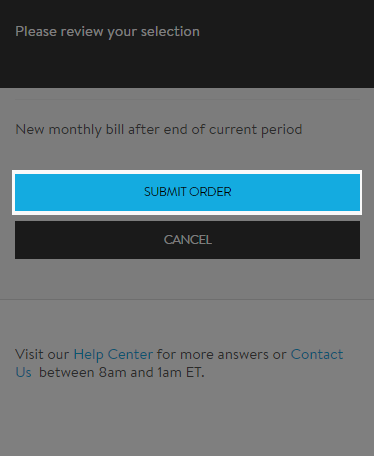 image of submit screen with button highlighted