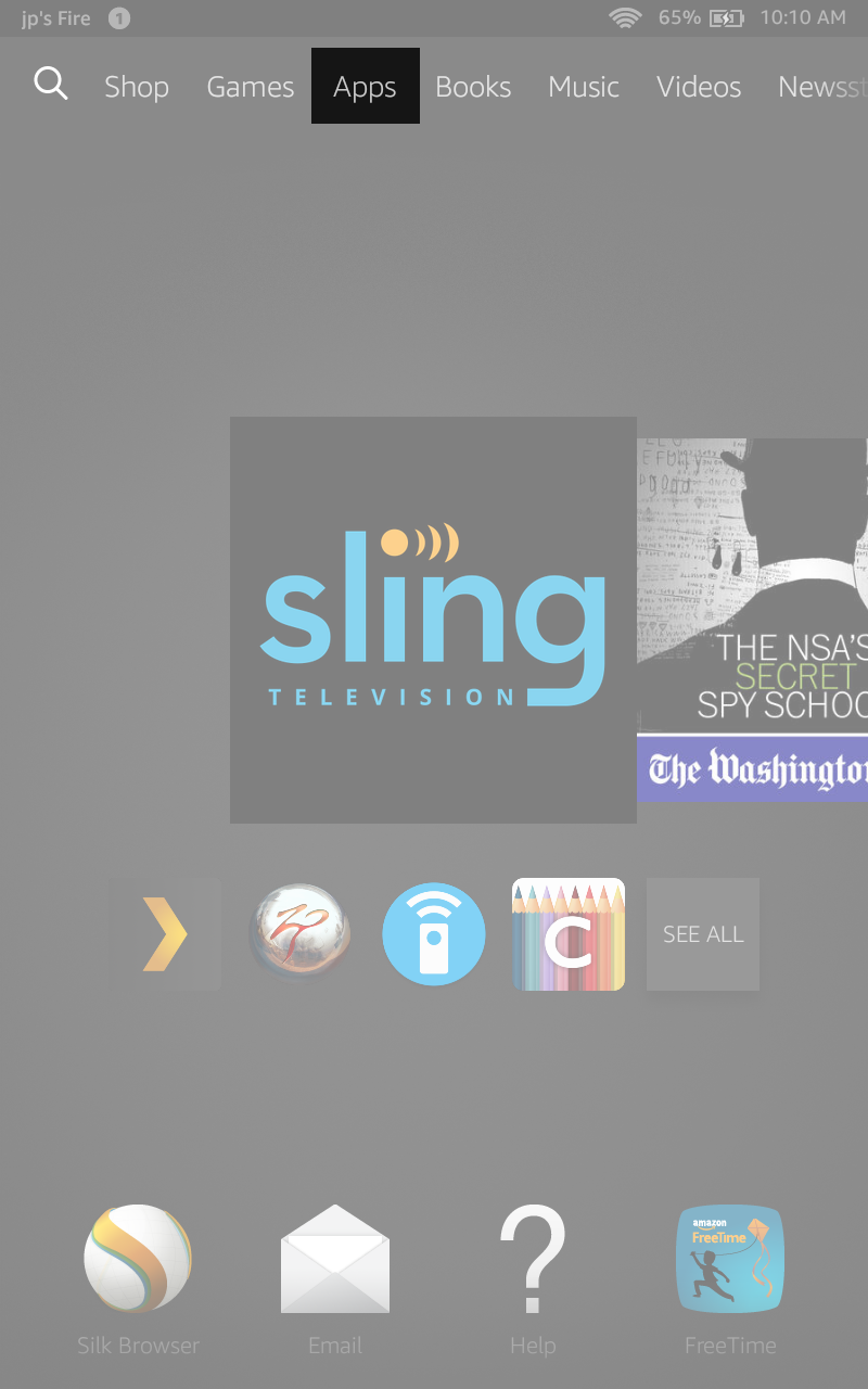 Update your Sling TV app