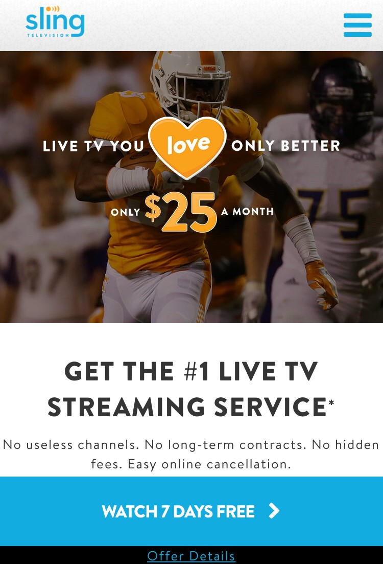 4a56bb6b5f008 If you already have a Sling TV account, signing in to the app should  function normally. If you experience any issues, visit our Troubleshooting  Tool for ...
