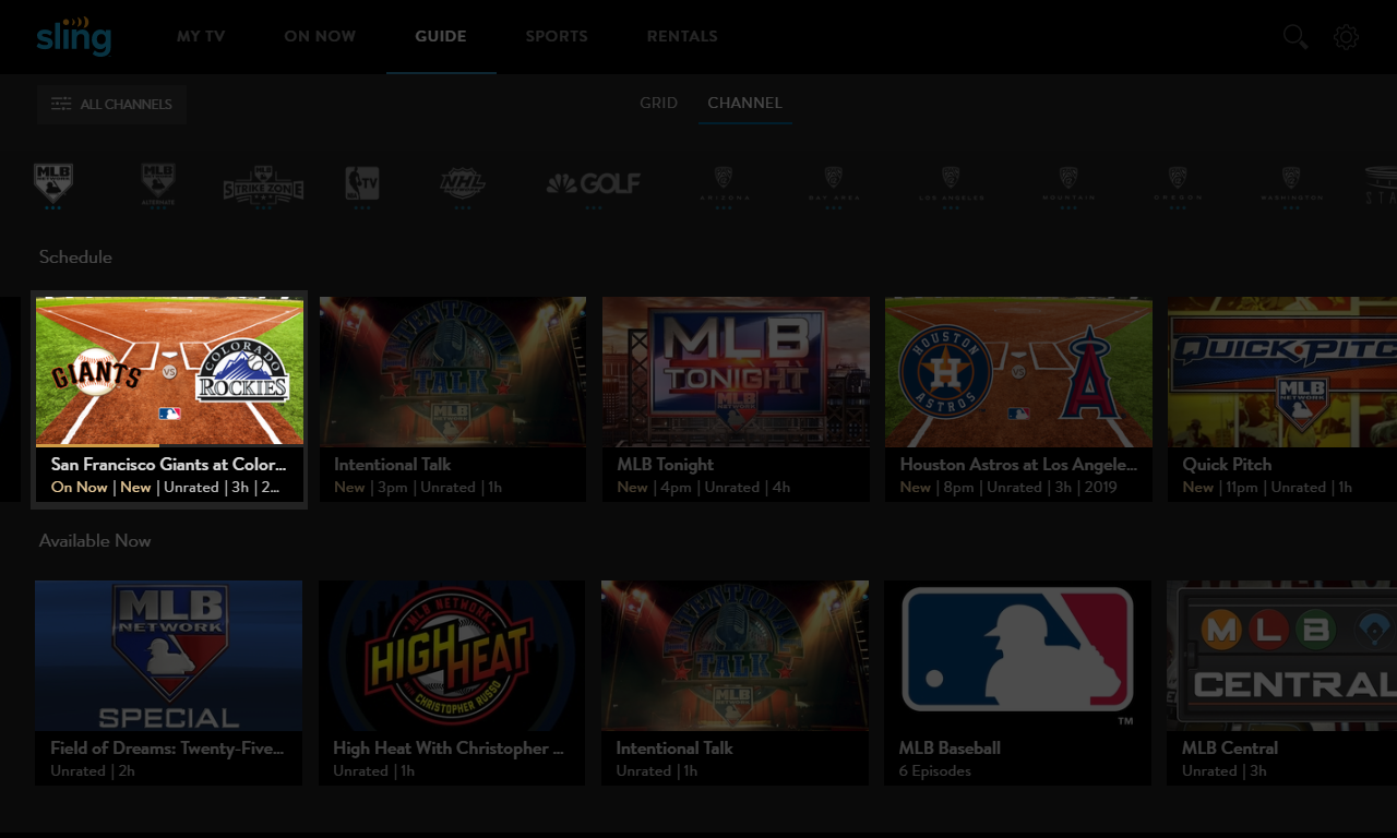 Learn about Cloud DVR on Sling TV