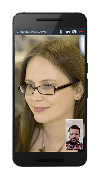 android video call small