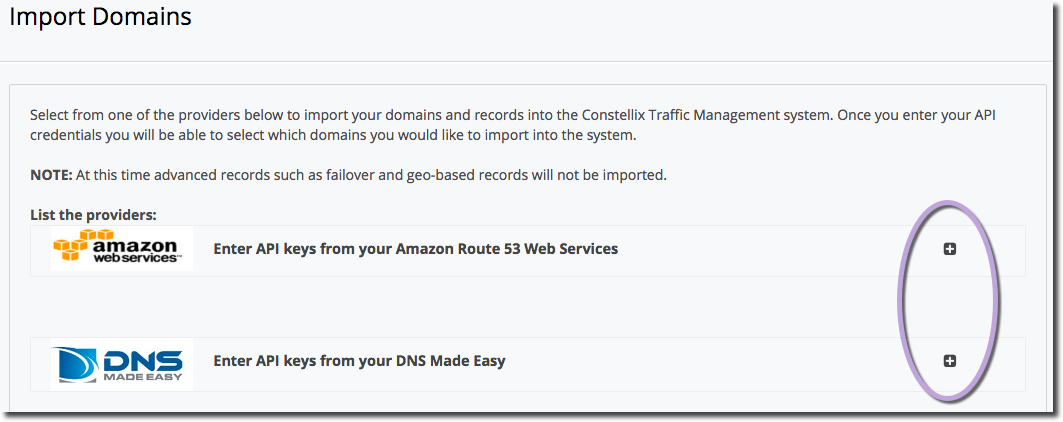 import api domains 3