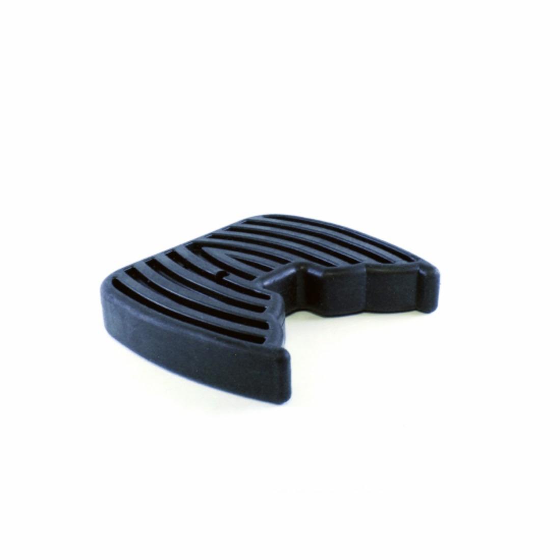 black rubber cradle