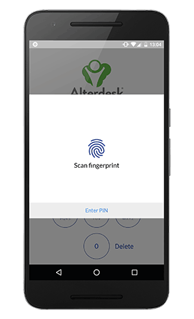 scan fingerprint android