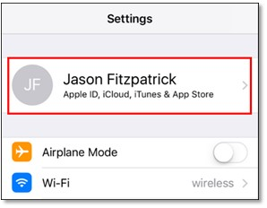 Image result for apple account settings