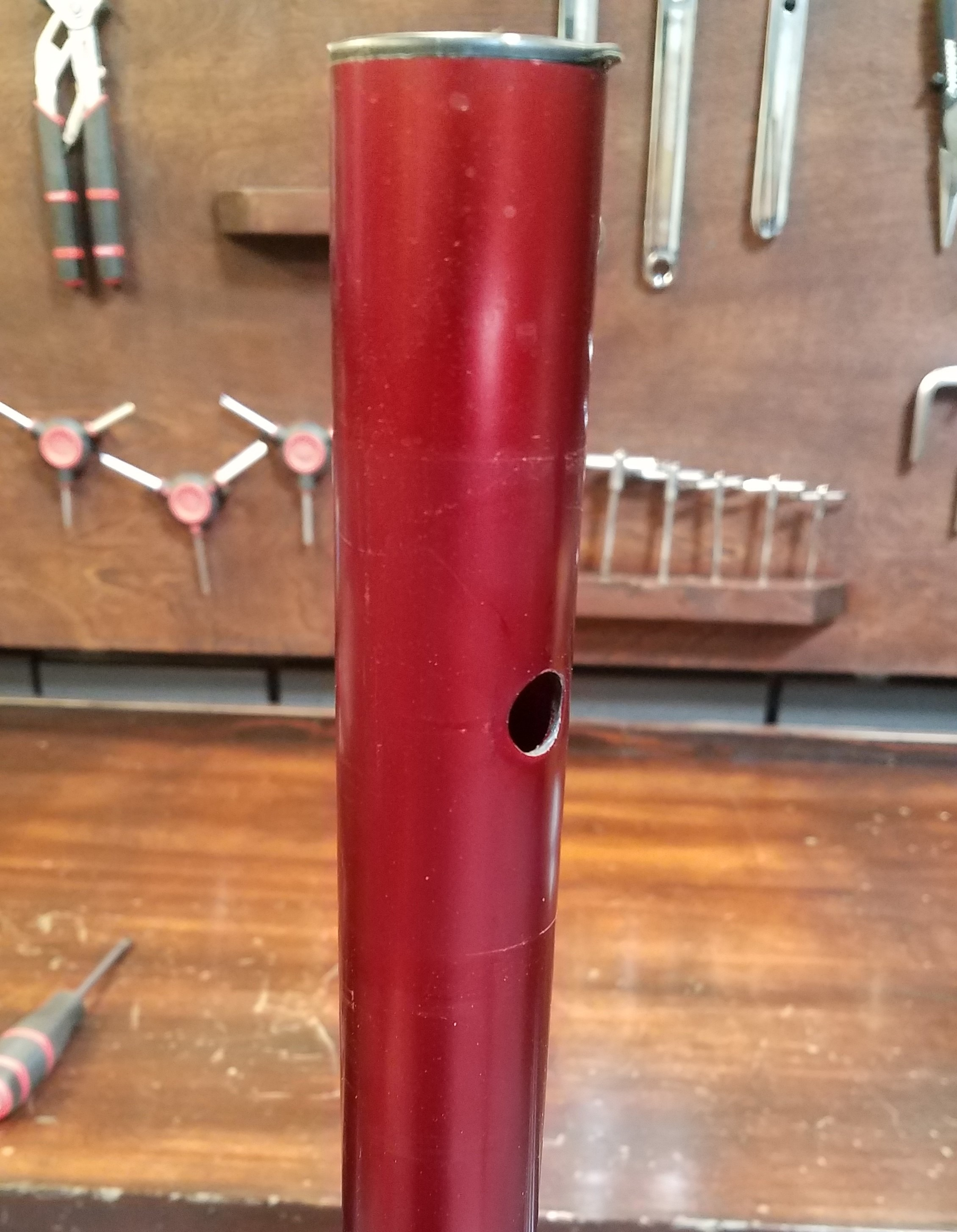 Repair stand without head