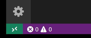 Remote Status bar item