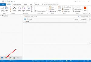 Outlook Calendar Icon