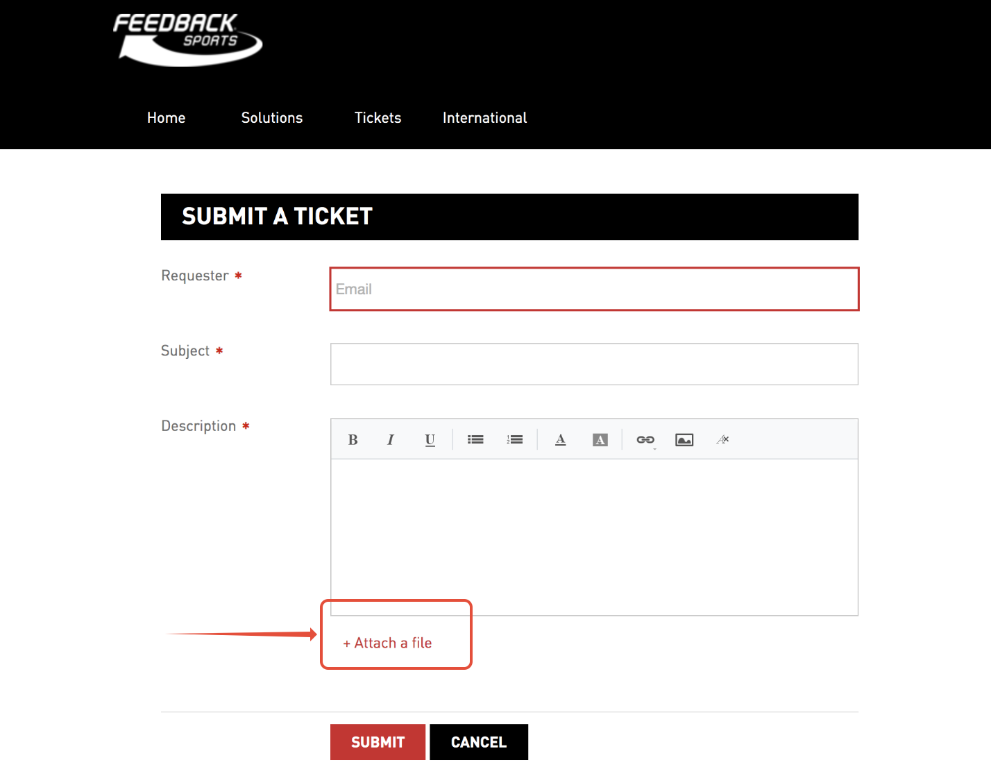 screenshot of ticket