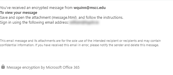 Old Office Message Encryption