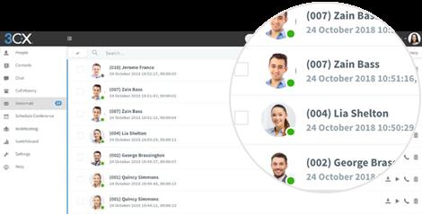Enregistrez votre message d'accueil dans votre messagerie vocale