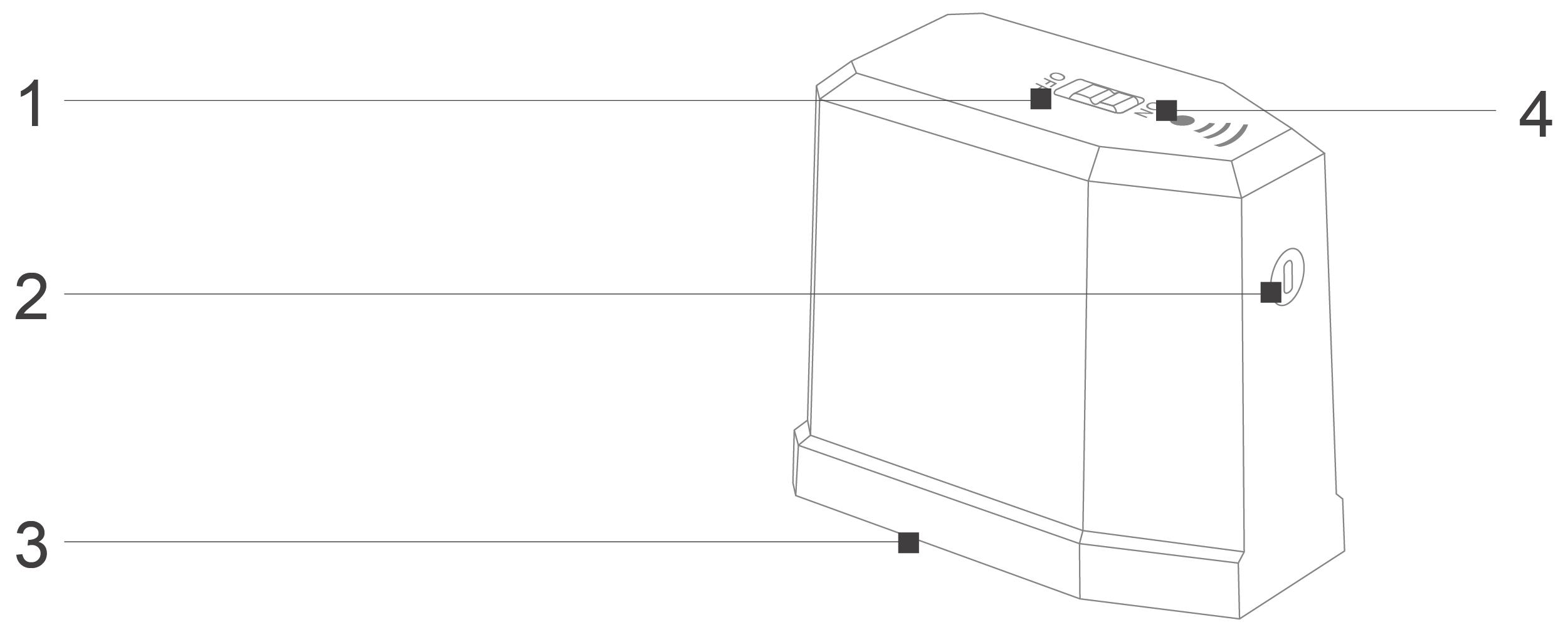 Robô Aspirador de Pó JETS J1 - Conhecendo a parede virtual