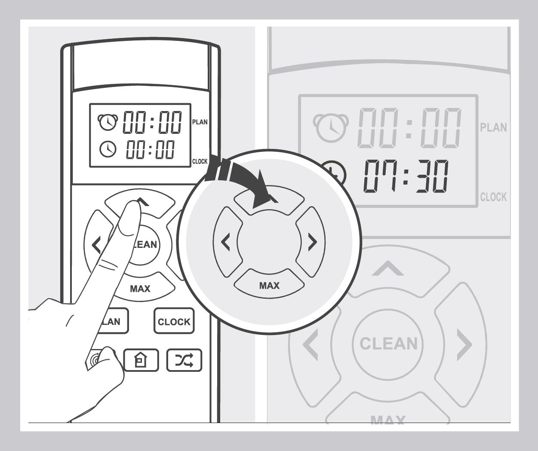 Robô Aspirador de Pó JETS J1 - Configuração do horário de atual 2