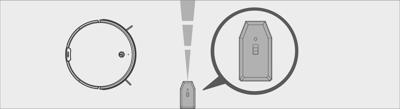 Robô Aspirador de Pó JETS J1 - Utilização da parede virtual 2