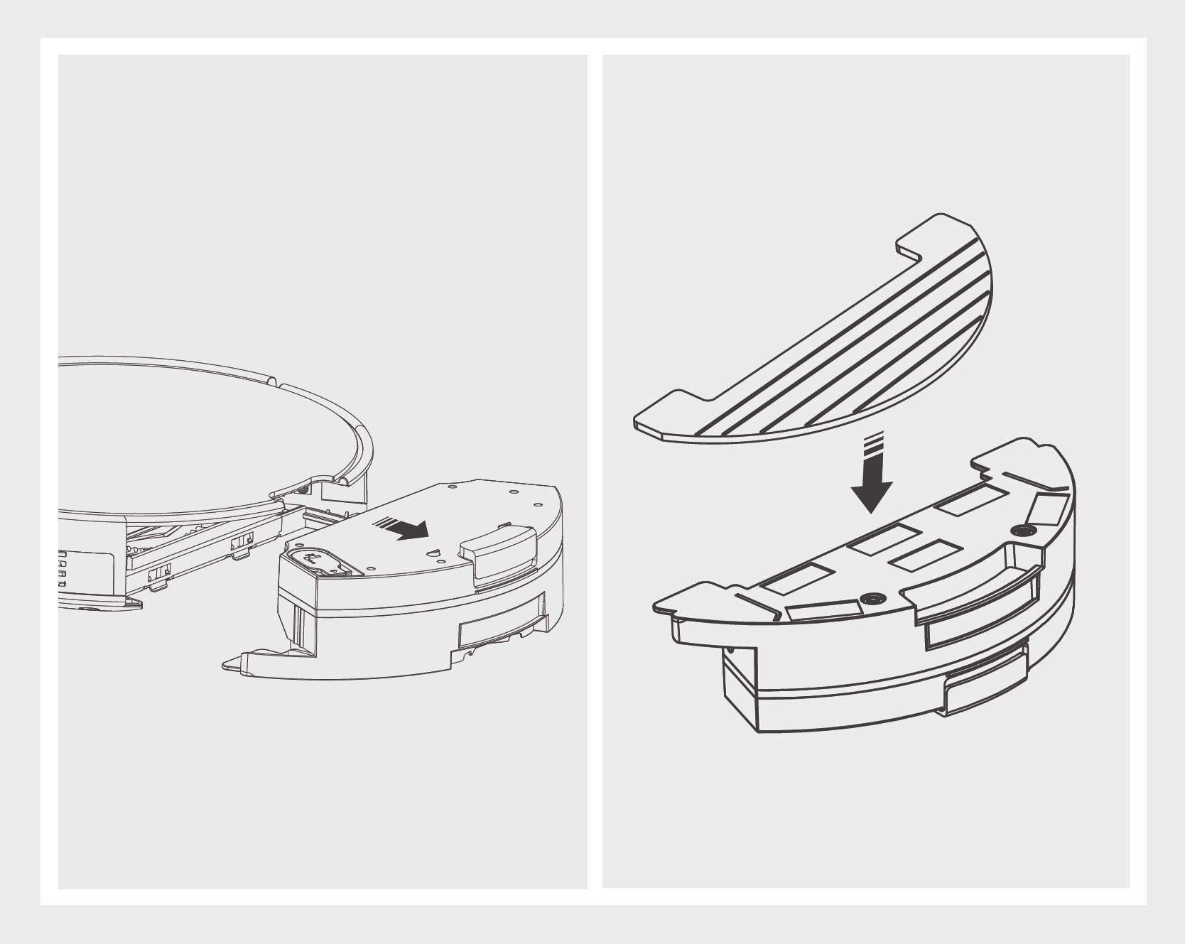 Robô Aspirador de Pó JETS J1 - Limpando o MOP 1