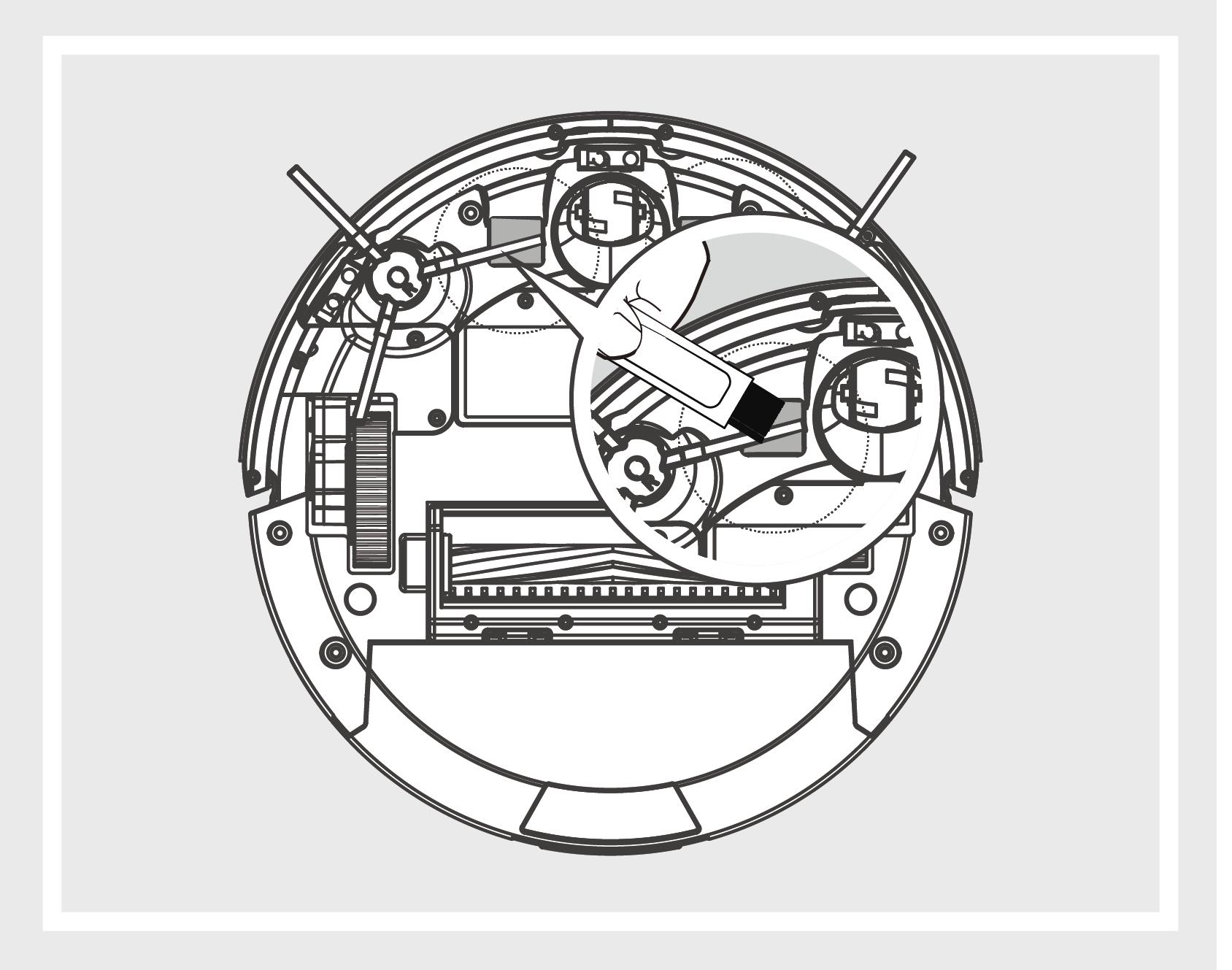 Robô Aspirador de Pó JETS J1 - Pinos de recarregamento 1