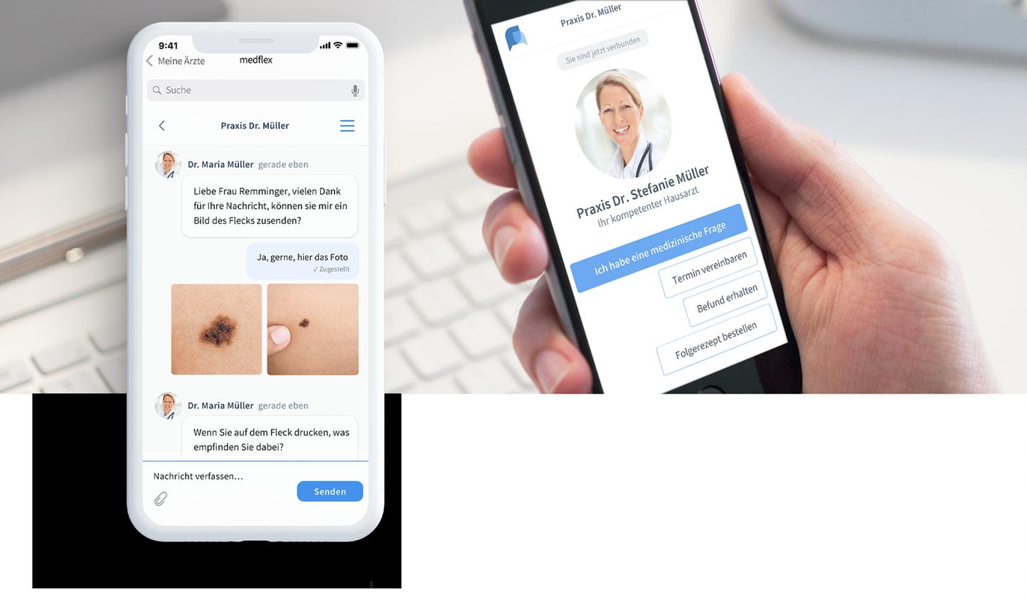 medflex Messenger für Patienten